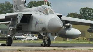 Tornado jets off to Iraq from RAF Marham.