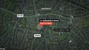 Shots were fired on St Edburgh's Road in Stechford