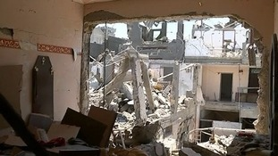 Mohammad's home was destroyed.