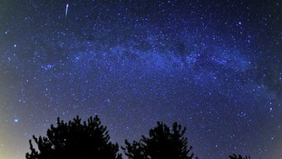 The Perseids meteor shower seen last year