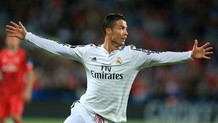 Cristiano Ronaldo begun the season in style with two goals for Real.