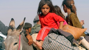 Unicef says those rescued from Sinjar are suffering the after-effects.