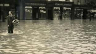 Flooding in Cockermouth, 1938