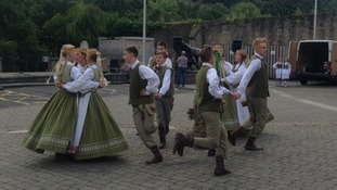 Dancers from Lithuania