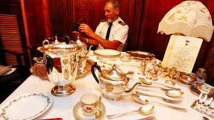 John and his wife enjoyed Christmas dinner in the dining room last year
