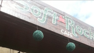 The Soft Rock Cafe branding.