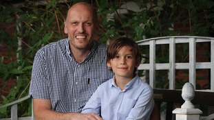 Peter and Joshua Gebruers are now undergoing radiotherapy