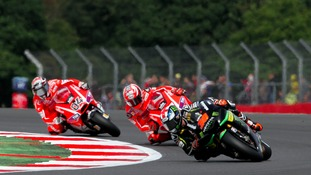 The 2013 Moto GP British Grand Prix at Silverstone