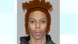 An e-fit image of a man police would like to speak to.