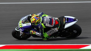 The MotoGP British Grand Prix at Silverstone in 2013.