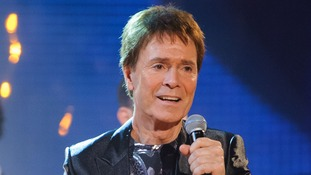 Sir Cliff Richard performing on the Graham Norton Show in December last year.