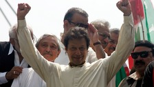 Imran Khan is chairman of Pakistan Tehreek-e-Insaf (PTI).