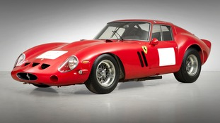 The rare racing car was owned by the Violati family since 1965.