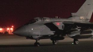 A Marham Tornado prepares for a sortie