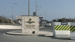 The RAF base at Akrotiri