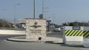 The RAF base at Akrotiri