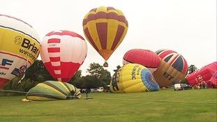 Northampton Balloon Festival.