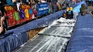 Water slide in Bristol