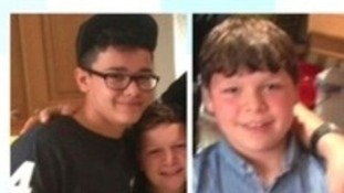Remus, Janko and David Matlock went missing from their foster home in Sunderland.