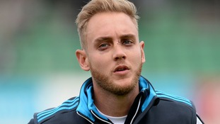 Broad seen warming up this morning.