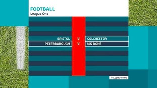 League One fixtures.