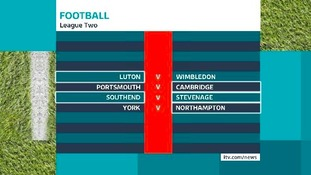 League Two fixtures.
