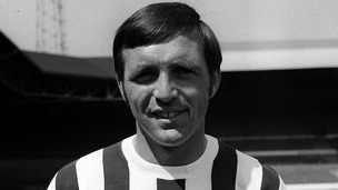 Jeff Astle was nicknamed 'the hero' by fans for his goalscoring between 1964 and 1974