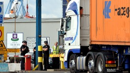 Second man held over people found in Tilbury Docks container