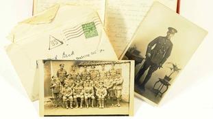 WWI diary