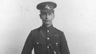 Regimental Sergeant-Major George Beck, of 1st Warwickshire Regiment