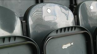 Seat 66, Row U - Liam Sweeney's seat