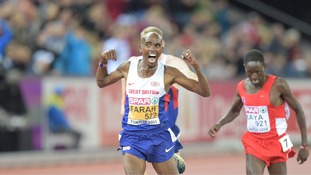 Mo Farah won the 10,000m in Zurich earlier this week.