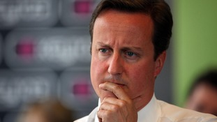 David Cameron warned of the possible threat from Islamic State militants to the UK.