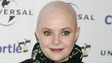 TV presenter Gail Porter refused to wear a hat or wig to hide her baldness.