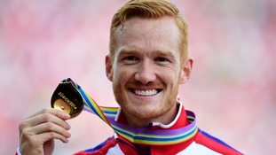 Greg Rutherford won the men's long jump on the final day in Zurich.