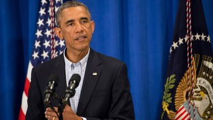 President Obama authorised air strikes against Islamic State militants.