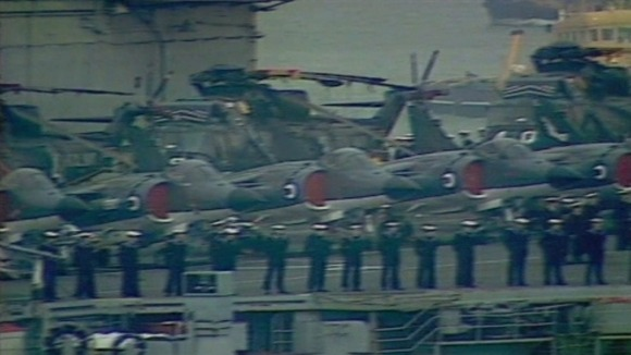 sea harriers in Falklands
