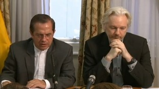 WikiLeaks founder Julian Assange confirmed he will be leaving the Ecuadorian embassy.