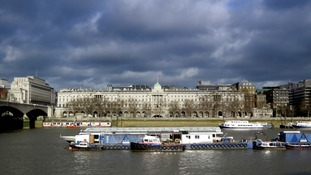 Clouds over Somerset House