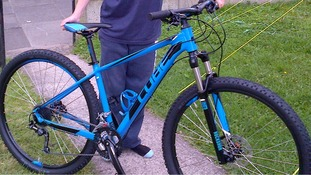 Declan's new bike