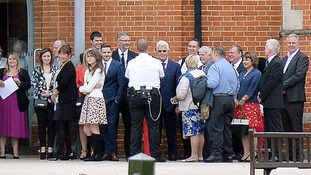 Shamed celebrity agent Max Clifford was allowed out of jail on day release.