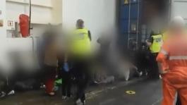 Man arrested after death of Afghan at Tilbury docks