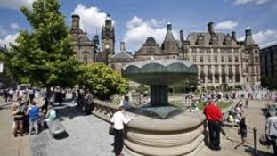 Sheffield's Peace Gardens