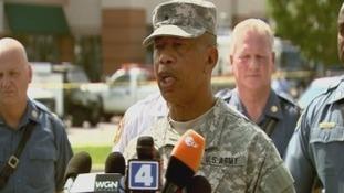 Missouri National Guard Brigadier General Gregory Mason