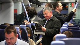 Rail passengers to be hit by 3.5% average fare rise next year