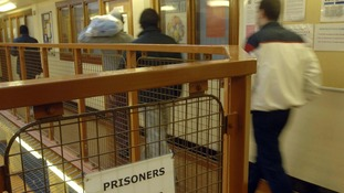Prisoners at a maximum security jail in south east London