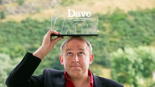 Tim Vine was presented with the Dave Funniest Joke of the Fringe 2014 award.