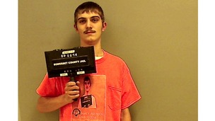 Robert Burt made the mugshot his Facebook profile picture.