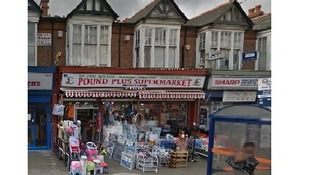 The Pound Plus store on Dudley Road in Birmingham.