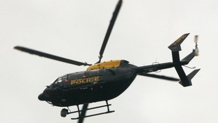 Met Police helicopter, known as I99